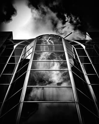 Photograph - Clock Tower No 1920 Yonge St Toronto Canada by Brian Carson
