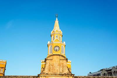 Impressionist Landscapes - Clock Tower of Cartagena by Jess Kraft