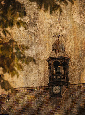 Photograph - Clock Tower Paris France by Bob Coates