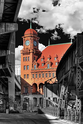 Clock Tower Art Print by Tim Wilson