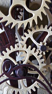 Clock Works 2 Original by Carolyn Marchetti