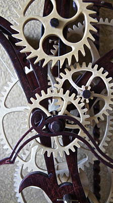 Clock Works 3 Original by Carolyn Marchetti
