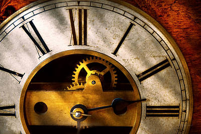 Photograph - Clockmaker - What Time Is It by Mike Savad