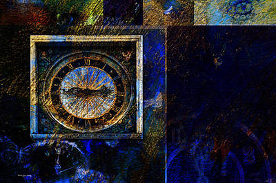 Photograph - Clocks by Randi Grace Nilsberg