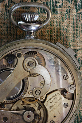 Photograph - Clockworks 4 by Mary Bedy
