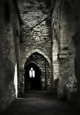 Photograph - Cloister And Portico Of Jerpoint Abbey by Nadalyn Larsen