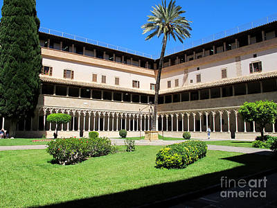 Pyrography - Cloister On Mallorca by Art Photography