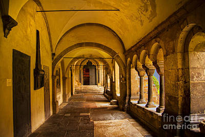 Photograph - Cloister Walk by Rick Bragan