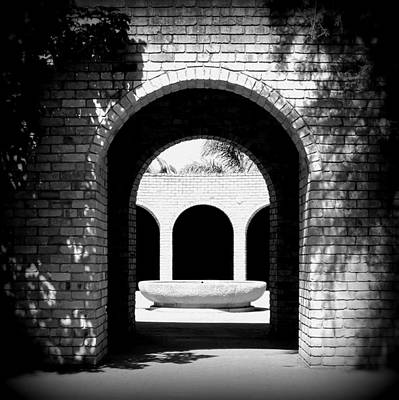 Photograph - Cloistered Courtyard by Guy Pettingell