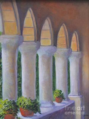 Painting - Cloisters New York by Jana Baker