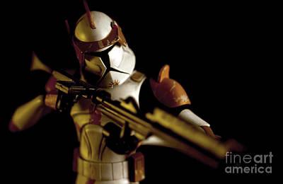 Clone Trooper 2 Art Print by Micah May