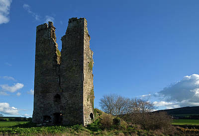 Clonea Castle, Near Clonea, County Art Print