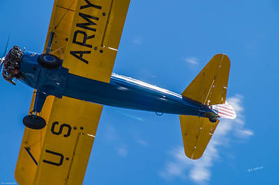 Photograph - Close Encounter Of The Bi Plane Kind by Mick Anderson