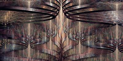 Kim Digital Art - Close Encounters by Kim Redd