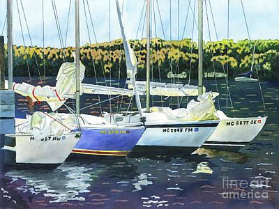 Painting - Close Ties by LeAnne Sowa