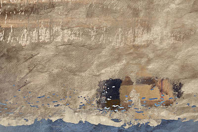 Montage Mixed Media - Close To Shore by Carol Leigh