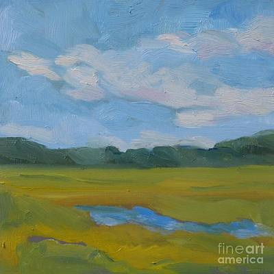 Newengland Painting - Close To The Clouds by Colleen Kidder
