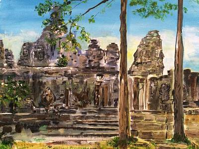 Southeast Asia Painting - Close To You by Belinda Low