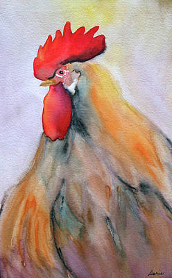 Digital Art - Close Up Of Chicken by Doris Charest