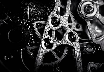 Photograph - Close-up Of Mechanical Parts by Rory Turnbull / Eyeem