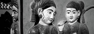 Jaipur Photograph - Close-up Of Mural On A Wall, Jaipur by Panoramic Images