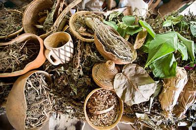 Uganda Wall Art - Photograph - Close-up Of Natural Herbs And Healing by Panoramic Images