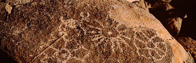 Petroglyph Photograph - Close-up Of Petroglyphs On A Rock by Panoramic Images