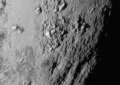 2000s Photograph - Close-up Of Pluto by Nasa/johns Hopkins University Applied Physics Laboratory/southwest Research Institute
