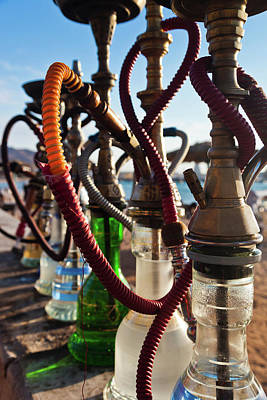Jordan Photograph - Close-up Of Shisha Water Pipes On Aqaba by Panoramic Images