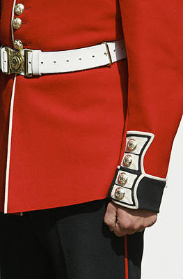 Close Up Of Soldiers Uniform From The Art Print by Mark Thomas