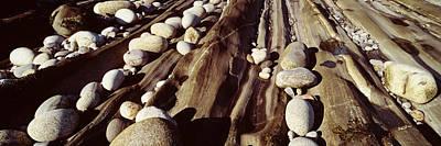 Close-up Of Stones, Pemaquid Art Print