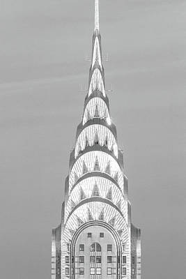 Photograph - Close Up Of The Chrysler Building by Panoramic Images