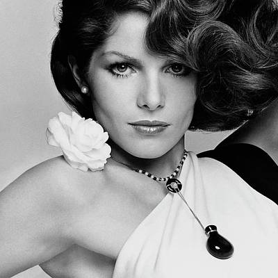 Fashion Photograph - Close Up Portrait Of Lois Chiles by Francesco Scavullo