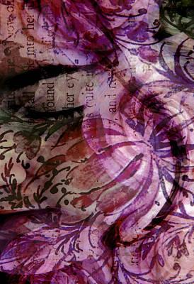 Sleep Mixed Media - Close Your Eyes by Angelina Vick