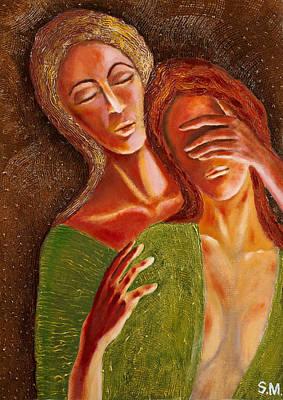 Painting - Close Your Eyes  by Siyavush Mammadov