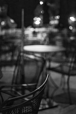 Closed Dining Art Print by Michael Williams