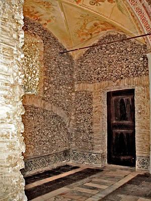 Closed Door. Capela Dos Ossos. Chapel Of Bones. Evora. Portugal. Original by Andy Za