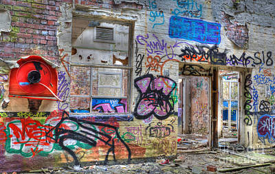 Photograph - Closed For Business by David Birchall