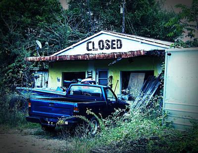 Closed For Repairs Art Print