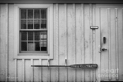Maine Barns Photograph - Closed  by Pat Lucas