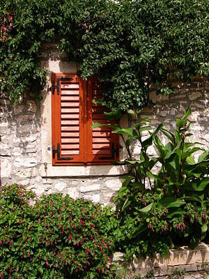 Photograph - Closed Window by Eva Csilla Horvath