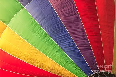 Photograph - Closeup Of A Hot Air Balloon by Don Landwehrle