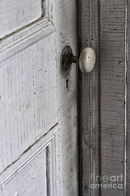 Closing The Door To The Past Art Print by Margie Hurwich