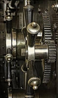 Closing The Vault Door Art Print by Image Takers Photography LLC - Carol Haddon