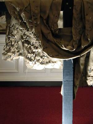 Photograph - Cloth And Cross 7408 by Jerry Sodorff