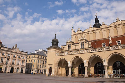 Photograph - Cloth Hall In Krakow by Brenda Kean