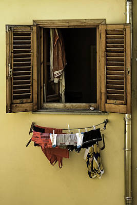 Photograph - Clothes Dryer by Curtis Dale