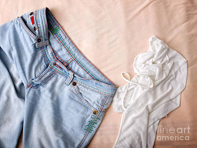 Mess Photograph - Clothes Mess by Sinisa Botas