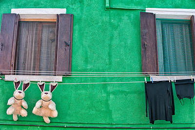 Photograph - Clothesline Humor by Joan Herwig