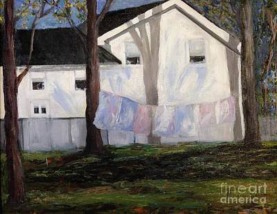 Painting - Clothesline by Joanne Killian